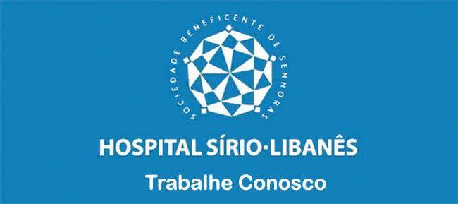 Trabalhe conosco Hospital Sírio Libanes